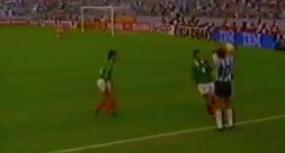 La 'pillería' de Simeone en la final ante México en 1993