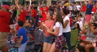 Impresionante celebración del Mundial Femenino en EEUU