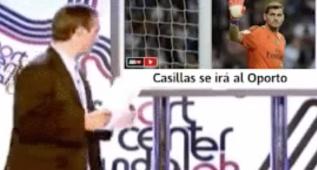 Ironía en la red: ¿Qué le pasa a Lopetegui al ver lo de Casillas?