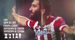 El homenaje en vídeo del Atlético de Madrid a Arda