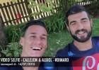 El cómico vídeo de Callejón y Albiol con un italiano 'especial'