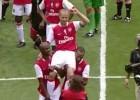 Arsenal recuerda la emotiva despedida de Dennis Bergkamp