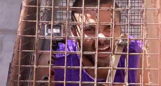 ¿Qué hace Tony Parker metido en una jaula con un tigre?