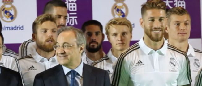 El esperado reencuentro entre Sergio Ramos y Florentino