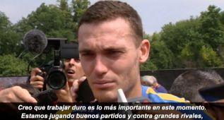 """Vermaelen: """"La lesión está olvidada y sólo miro al futuro"""""""