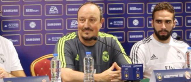 """Benítez: """"Soy entrenador y por eso sólo hablo de fútbol"""""""