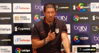 """Simeone: """"Queremos reinventarnos como equipo"""""""