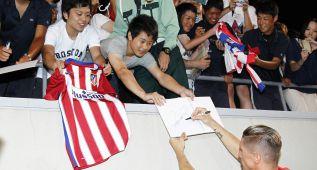 Fernando Torres, el ídolo de los aficionados japoneses