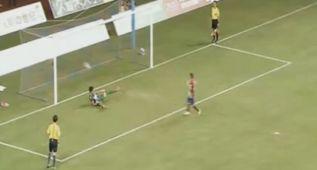 El gol a lo Panenka de Vietto que dio la victoria al Atleti