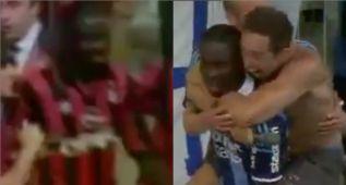 Un compatriota de Weah calca su histórico gol con el Milán