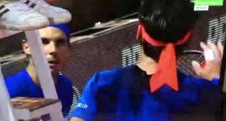 """Fognini estalló contra Nadal: """"¡No me rompas los h...!"""""""