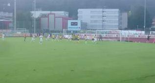 Xavi marca en su debut su primer gol con el Al Sadd