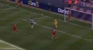 Lo mejor del Valencia fue el golazo de Álvaro Negredo