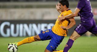 El Barça cae con la Fiorentina a pesar de Luis Suárez