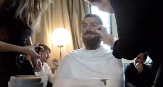El curioso making of del spot del 'vagabundo' Cristiano