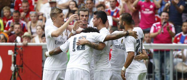 Isco y James vuelven a deslumbrar y Bale marca