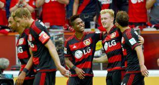 El Leverkusen remonta y consigue la victoria