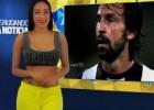 Una presentadora venezolana se desnuda mientras habla de Pirlo