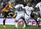 El golazo de Sneijder con un disparo entre Ramos y Danilo