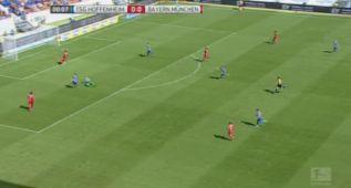 Así fue el gol ridículo que encajó el Bayern en 9 segundos