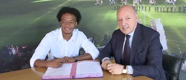 El colombiano Cuadrado, nuevo jugador de la Juventus