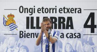 """La Real presenta a Illarra: """"Estoy muy contento de volver"""""""