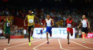 Vean el carrerón inhumano de Usain Bolt en la final de los 200
