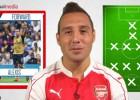 Cazorla eligió su 11 ideal de la actualidad e incluyó a Alexis