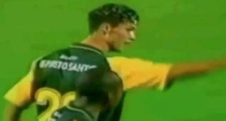 Cristiano marcó su primer gol como profesional al Betis