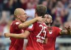 Revisa los 3 goles del Bayern de Vidal ante Leverkusen