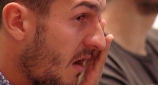 Koke no pudo reprimir el llanto en el adiós de Raúl García
