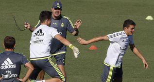 El Madrid completó una sesión plagada de canteranos