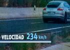 Futbolista detenido por conducir a 234 km/h