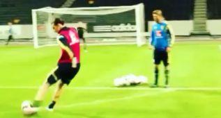 ¿Puede ser posible este brutal zapatazo de Ibrahimovic?