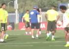 Kaká se quedó embobado con los toques de Marcelo