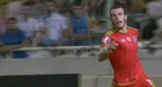Bale marcó a lo 'Cristiano': cabezazo imponente a Chipre