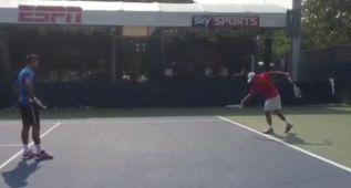 La hilarante y precisa imitación que le hicieron a Djokovic