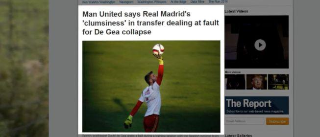 """El United da réplica al Real Madrid y le acusa de """"torpeza"""""""