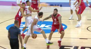 Esta asistencia de Rudy en el Eurobasket, la mejor del año