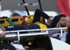 Gago duró 30 segundos en el Superclásico: fea lesión