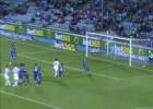 Guaita evitó el empate del Málaga con este paradón