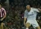 El pase mágico de Zidane a Robinho que tumbó al Athletic