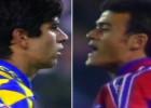 Luis Enrique y Valerón ya se vieron en un Barça-Las Palmas