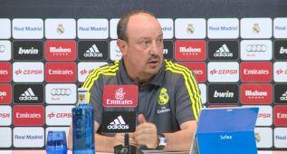 """Benítez: """"He hablado con Bale y Ramos, mañana decidimos"""""""
