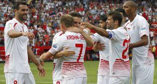 Primer batacazo del Barça sin Messi ante un gran Sevilla