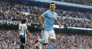 Agüero vuelve a salvar al City con una goleada al Newcastle