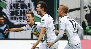 El Wolfsburgo pierde ante el Gladbach en 4 minutos