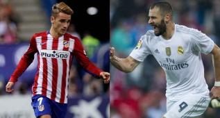 El duelo galo del derbi: Karim Benzema vs Griezmann