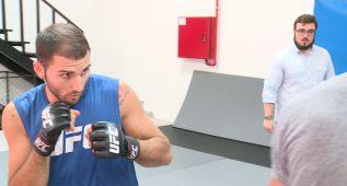 Enrique Marín, un español que quiere triunfar en la UFC
