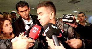 """Correa: """"El derbi fue muy lindo, de mirarlo por la tele a jugarlo"""""""